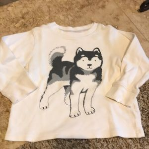 Carters Boys Wolf Thermal Size 3T